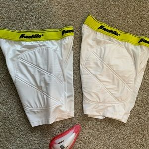 Franklin sport padded shorts with cup holder